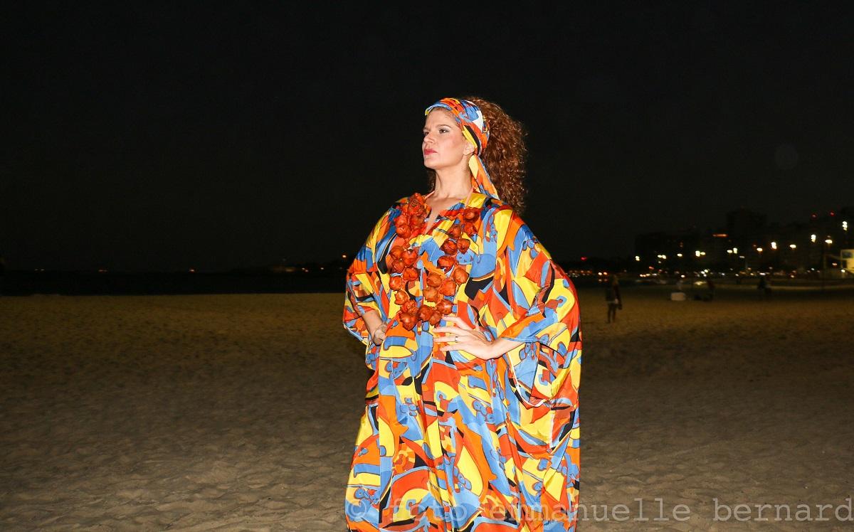 A altiva e bela Joana Seibel.